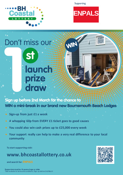 Dont miss our special launch prize draw